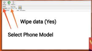Flash asus phone using asus flash tool