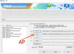 Samsung stock rom ap file Select